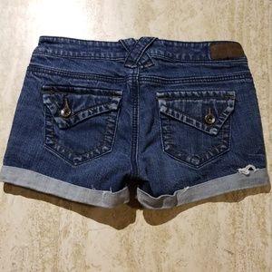 YMI Premium Cuffed Jean Shorts